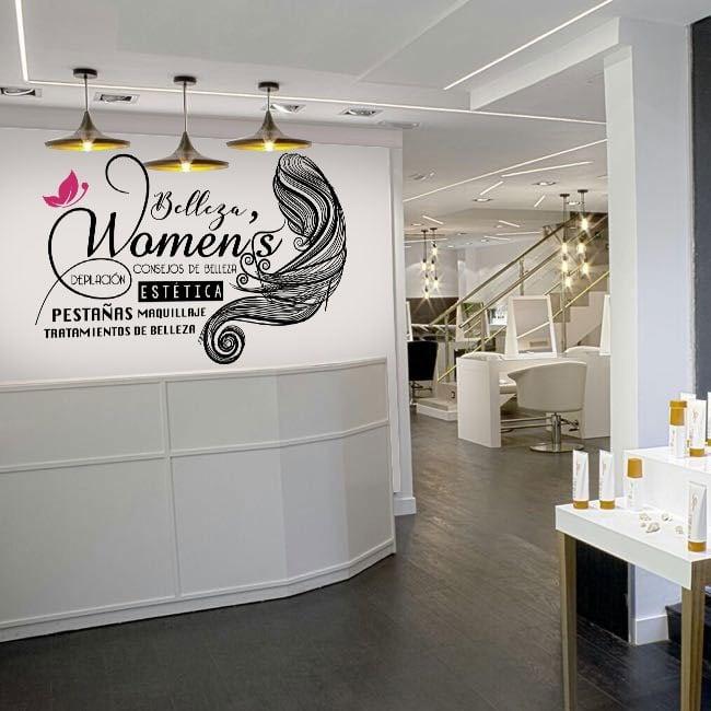 Vinyle décoratif salons de beauté