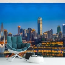 Murales de vinyle chine ville de chongqing