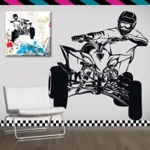 Vinyle décoratif et des autocollants quad bike