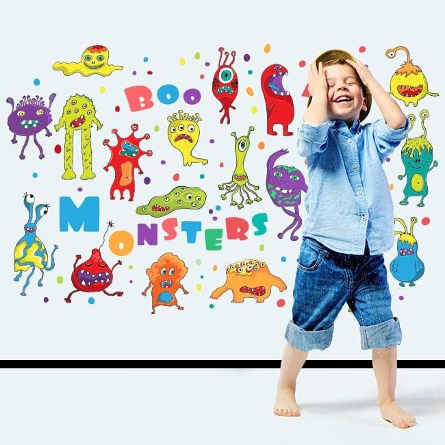 Vinyle enfants ou jeunes monstres