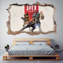 Vinyle décoratif apex legends 3d