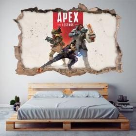 Vinyle décoratif apex legends 3d