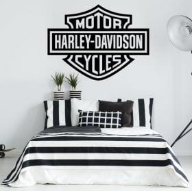 Vinyle et des autocollants logo motos harley davidson