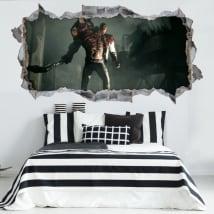 Vinyle décoratif resident evil 3d