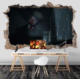 Vinyle les murs resident evil 3d