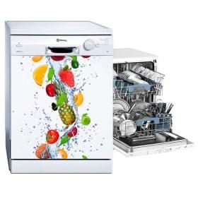 Fruits lave-vaisselle autocollants