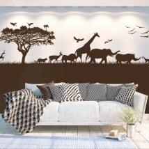Vinyle décoratif afrique