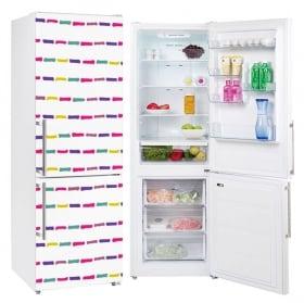 Vinyle décoratif pour les réfrigérateurs paris tour eiffel