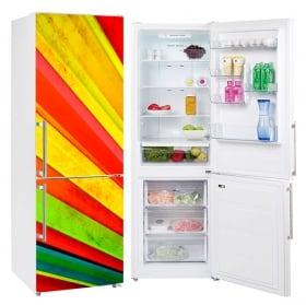 Vinyle réfrigérateurs fan de couleurs