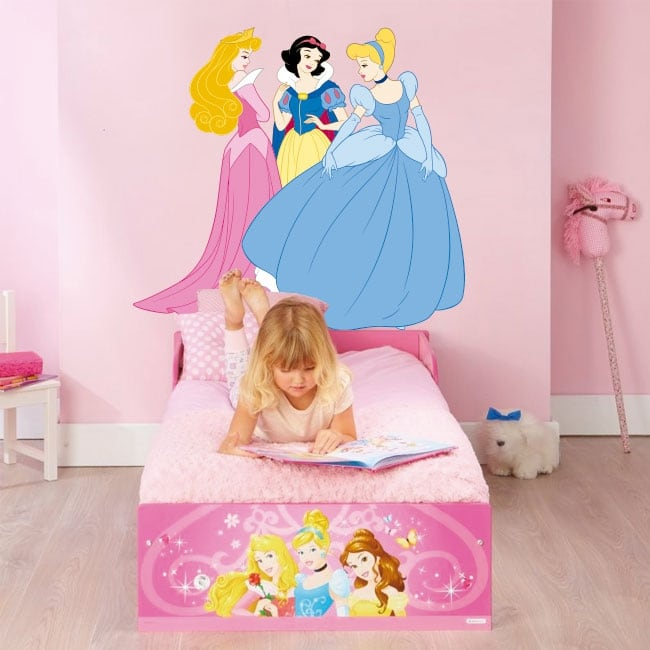 Vinyle décoratif princesses disney