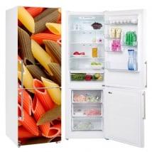 Vinyle et autocollants réfrigérateurs macaronis