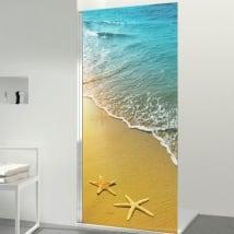 Vinyles écrans étoiles de mer