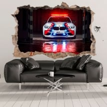 Vinyle décoratif 3d motogp bmw m2 safety car