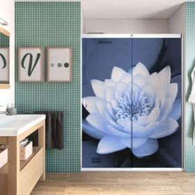 Vinyle pour les écrans fleur de lotus