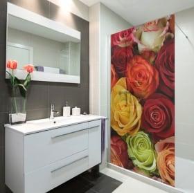 Vinyle pour les écrans roses colorées