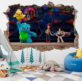 Vinyle pour enfants 3D histoire de jouet temps perdu