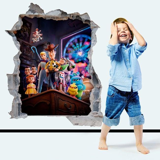Vinyle et autocollants enfants histoire de jouets 4