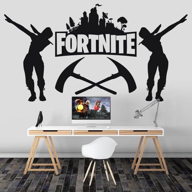 Vinyle décoratif jeu vidéo fortnite