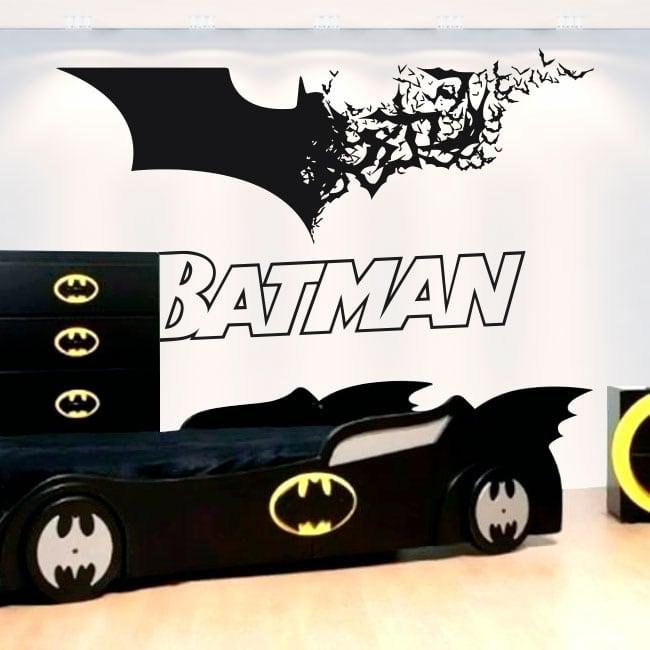Vinyle décoratif et des autocollants batman