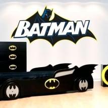 Autocollants en vinyle décoratifs batman