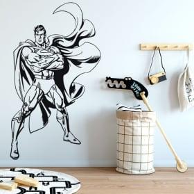 Autocollants et vinyles décoratifs superman