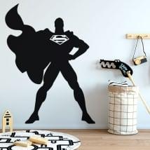 Autocollants en vinyle de superman