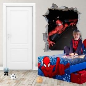 Vinyle adhésifs et autocollants 3d spiderman
