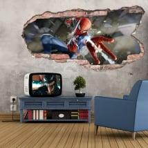 Vinyle et autocollants 3d spider-man