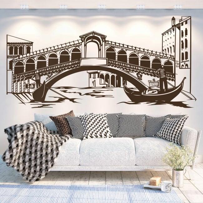 Vinyle décoratif et des autocollants venise italie