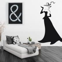 Vinyle décoratif silhouette de femme glamour