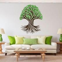 Autocollants en vinyle l'arbre de vie