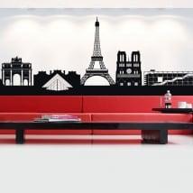 Vinyle et autocollants france skyline