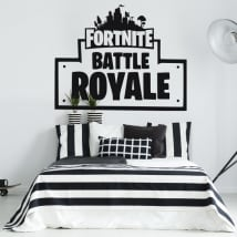 Vinyle décoratif et autocollants de fortnite battle royale