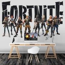Vinyle adhésif jeu vidéo fortnite