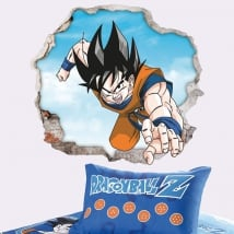 Vinyle décoratif et autocollants dragon ball 3d