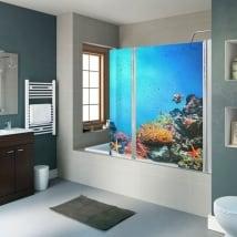Vinyle écrans monde marin barrière de corail