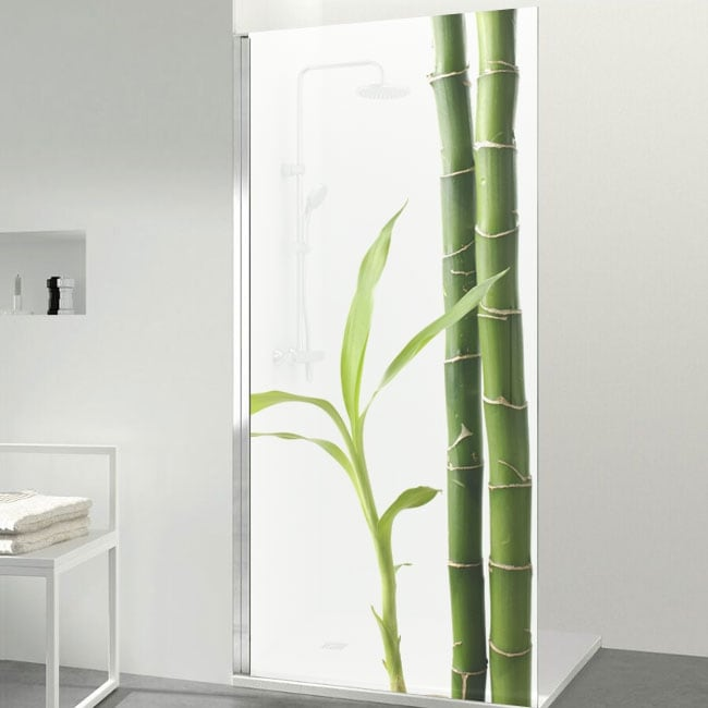 Vinyle pour les écrans style zen bambou