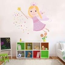 Vinyle décoratif et des autocollants pour enfants fée magique
