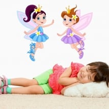 Vinyle et autocollants pour enfants fées magiques