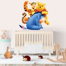 Autocollants en vinyle pour enfants disney winnie l'ourson