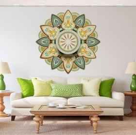 Vinyle adhésif mandalas à décorer