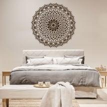 Mandalas en vinyle pour tête de lit