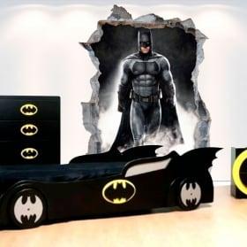 Autocollants en vinyle décoratifs 3d batman