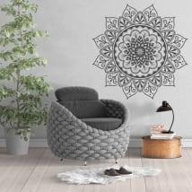 Vinyle décoratif avec des mandalas