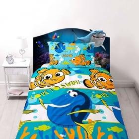 Vinyle pour enfants disney nemo tête de lit