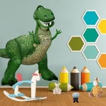 Vinyle pour enfants disney rex dinosaure toy story