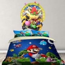 Vinyle décoratif jeu vidéo mario party