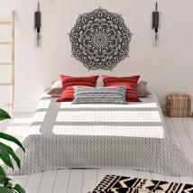 Vinyle les murs mandalas à décorer