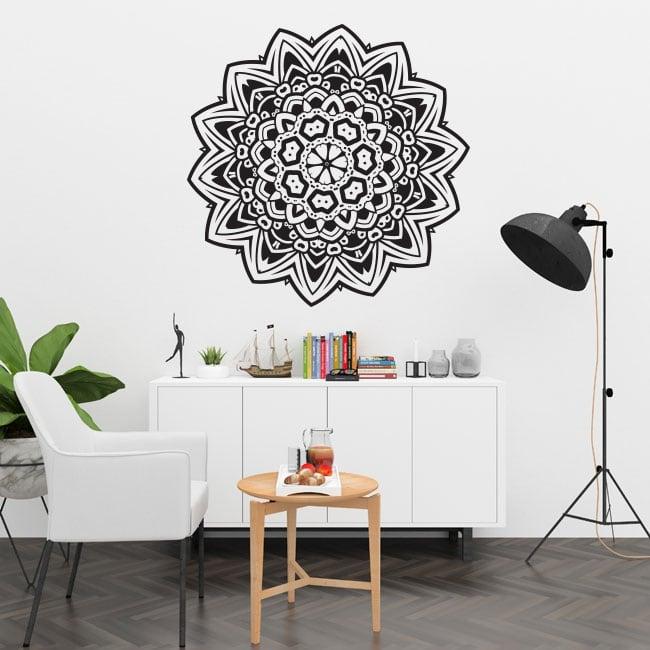 Mandalas en vinyle pour murs et fenêtres