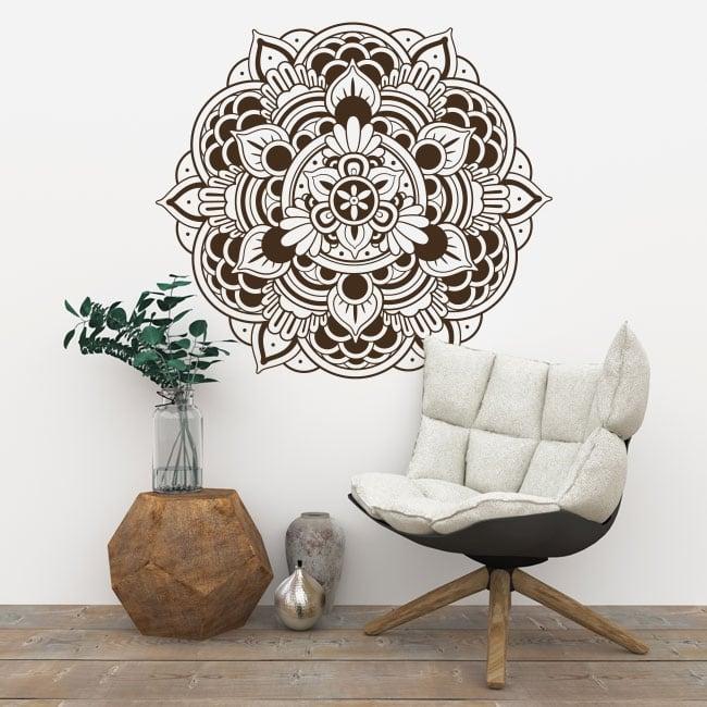 Vinyle décoratif mandalas à décorer